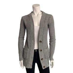 4/20$ Aerie grey knit cardigan